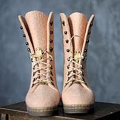 Обувь ручной работы. Ярмарка Мастеров - ручная работа Валяные ботинки 40 р.. Handmade.