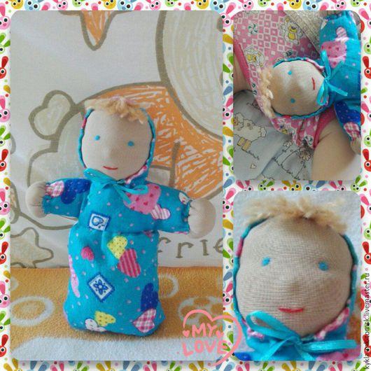 """Вальдорфская игрушка ручной работы. Ярмарка Мастеров - ручная работа. Купить Вальдорфская кукла """"Малыш"""". Handmade. Кукла ручной работы"""