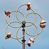 """Для дома и интерьера ручной работы. Ярмарка Мастеров - ручная работа Ветряная кинетическая скульптура """"Zinnia"""". Handmade."""