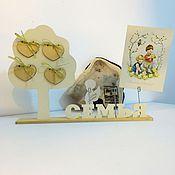 """Для дома и интерьера ручной работы. Ярмарка Мастеров - ручная работа Подставка для фото """"Семейное дерево"""". Handmade."""