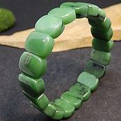 Украшения handmade. Livemaster - original item Zoisite bracelet Green Bank. Handmade.