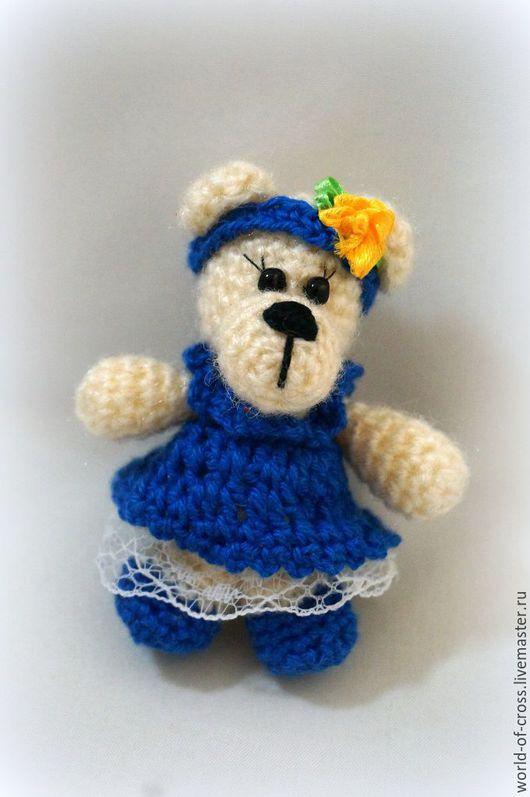 Игрушки животные, ручной работы. Ярмарка Мастеров - ручная работа. Купить Маленькая медведица. Handmade. Комбинированный, мишка ручной работы