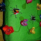 """Одежда ручной работы. Ярмарка Мастеров - ручная работа Летнее платье """"ЛУЖОК"""" короткое, хлопок. Handmade."""