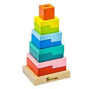 Куклы и игрушки handmade. Livemaster - original item Pyramid Steps Big. Handmade.
