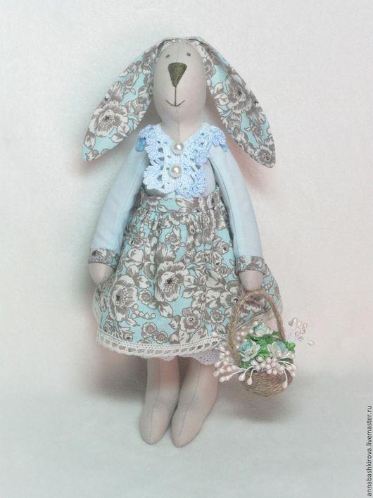 игрушки Башкировой Анны, заяц Тильда, кукла Тильда, зайчик, куклы ручной работы, игрушки ручной работы, подарок