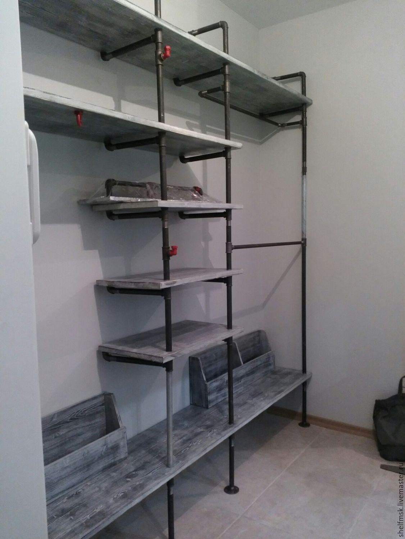 Фото угловых полок в гараже