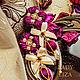Earrings with flowers. Floral stud earrings. Earrings Flowers. Earrings. LADY-LIZA jewelry shop. My Livemaster. Фото №5