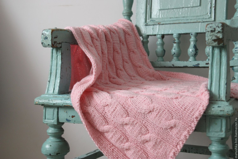 Плед вязание спицами фото 914