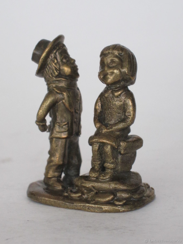 Brass statuette First kiss, Figurines, Yaroslavl,  Фото №1