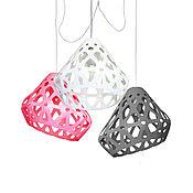 Для дома и интерьера handmade. Livemaster - original item ZAHA trehrozhkovye tricolor LIGHT chandelier 36. Handmade.