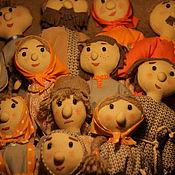 Куклы и игрушки ручной работы. Ярмарка Мастеров - ручная работа Толпа для кукольного театра. Handmade.