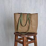 Сумка-шоппер ручной работы. Ярмарка Мастеров - ручная работа Сумка-шоппер: тоут. Handmade.