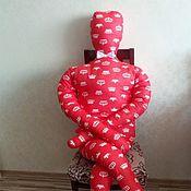 """Подушки ручной работы. Ярмарка Мастеров - ручная работа Подушка-человек """"Царь"""". Handmade."""