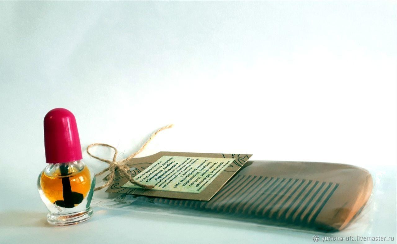 Аромарасческа из сандалового дерева «Энергия любви. Афродизиак», Гребни, Уфа,  Фото №1