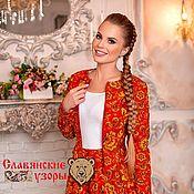 Одежда handmade. Livemaster - original item Jacket in Russian style
