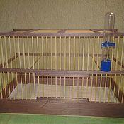 Для домашних животных, ручной работы. Ярмарка Мастеров - ручная работа Клетка для птиц. Handmade.