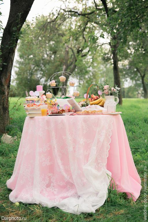 Аксессуары для фотосессий ручной работы. Ярмарка Мастеров - ручная работа. Купить Оформление фуршета свадьбы сладкого стола. Handmade.