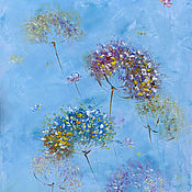 Картины и панно handmade. Livemaster - original item Oil painting gone with the wind Sequel. Handmade.