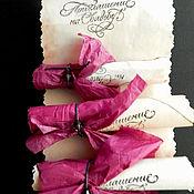 """Свадебный салон ручной работы. Ярмарка Мастеров - ручная работа Приглашение """"Свиток любви"""". Handmade."""