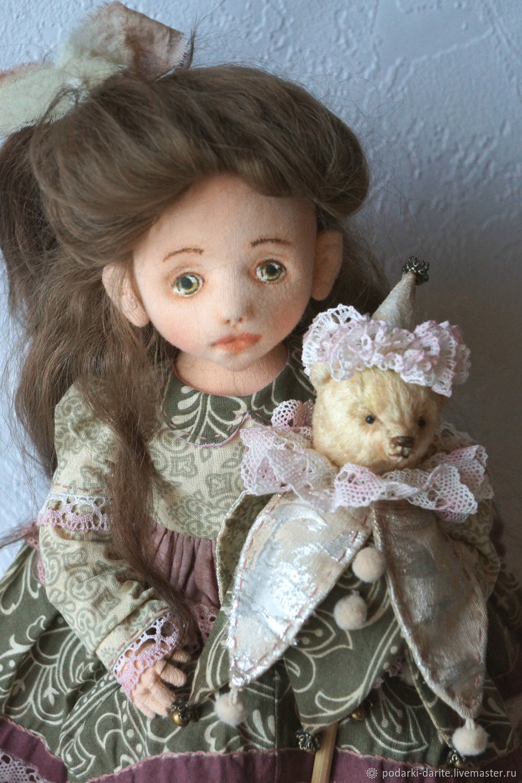 Текстильная кукла Полинка, Куклы, Талдом, Фото №1
