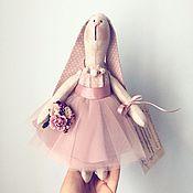 Куклы и игрушки ручной работы. Ярмарка Мастеров - ручная работа Зайка Кэтти. Handmade.