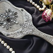 Сувениры и подарки handmade. Livemaster - original item Mirror with the handle