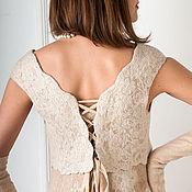 Свадебный салон ручной работы. Ярмарка Мастеров - ручная работа Валяное платье Накануне. Handmade.