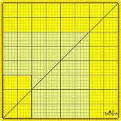 Инструменты ручной работы. Ярмарка Мастеров - ручная работа Стеклянный коврик для резки 40х40 см - жёлтый (не скрипит при резке). Handmade.