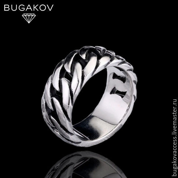 Steel braided ring, Rings, Moscow,  Фото №1
