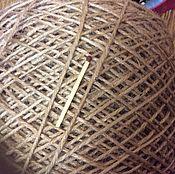 Материалы для творчества handmade. Livemaster - original item Jute yarn for knitting and filigree. Handmade.