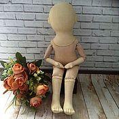 Заготовки для кукол и игрушек ручной работы. Ярмарка Мастеров - ручная работа Заготовка ретро - кукла текстильная. Handmade.