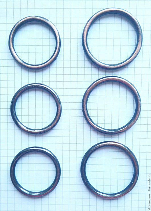 Другие виды рукоделия ручной работы. Ярмарка Мастеров - ручная работа. Купить кольцо металлическое литое 30/37 и 35/43мм красная медь. Handmade.