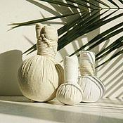 Эфирные масла ручной работы. Ярмарка Мастеров - ручная работа Мешочки для массажа с травами. Handmade.