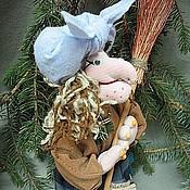 Куклы и игрушки ручной работы. Ярмарка Мастеров - ручная работа Кукла Бабулечка Ягулечка. Handmade.
