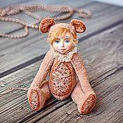 Куклы и игрушки ручной работы. Ярмарка Мастеров - ручная работа Мышка Маруся. Тедди долл. Handmade.
