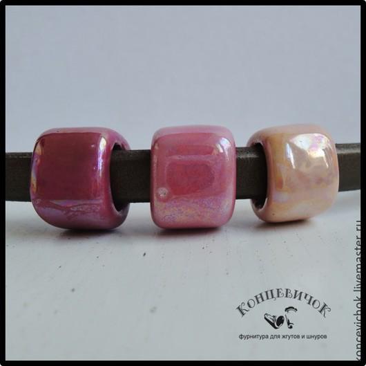 Для украшений ручной работы. Ярмарка Мастеров - ручная работа. Купить Керамика в розовом регализ Греция. Handmade. Фуксия, регализ