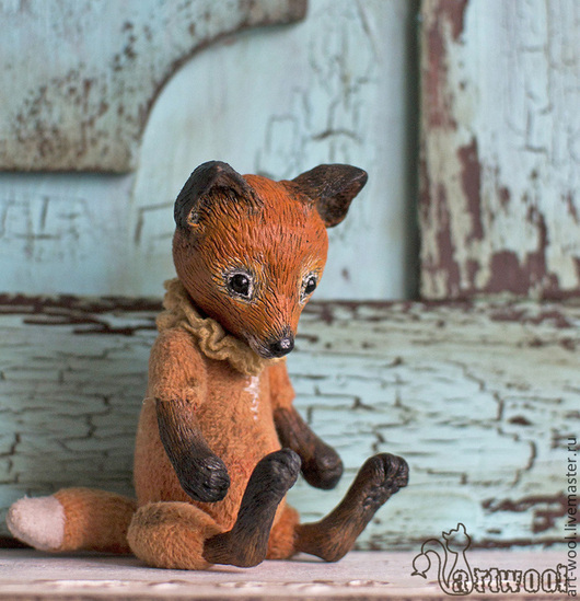 Игрушки животные, ручной работы. Ярмарка Мастеров - ручная работа. Купить Лис. Handmade. Рыжий, living doll