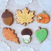 Сувениры и подарки handmade. Livemaster - original item Autumn gingerbread. Handmade.