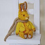 Куклы и игрушки ручной работы. Ярмарка Мастеров - ручная работа Зайчик Толик. Handmade.