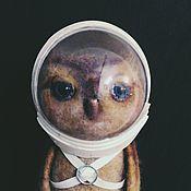 Куклы и игрушки ручной работы. Ярмарка Мастеров - ручная работа Сова-космонавт. Handmade.
