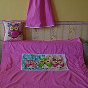 Для дома и интерьера ручной работы. Ярмарка Мастеров - ручная работа Детское одеяло- покрывало на флисе. Handmade.