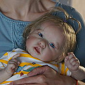 Куклы Reborn ручной работы. Ярмарка Мастеров - ручная работа кукла реборн Варюша( молд Саксия). Handmade.