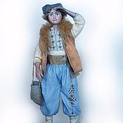 """Куклы и игрушки ручной работы. Ярмарка Мастеров - ручная работа Авторская кукла """"Возвращение"""" (28 см). Handmade."""