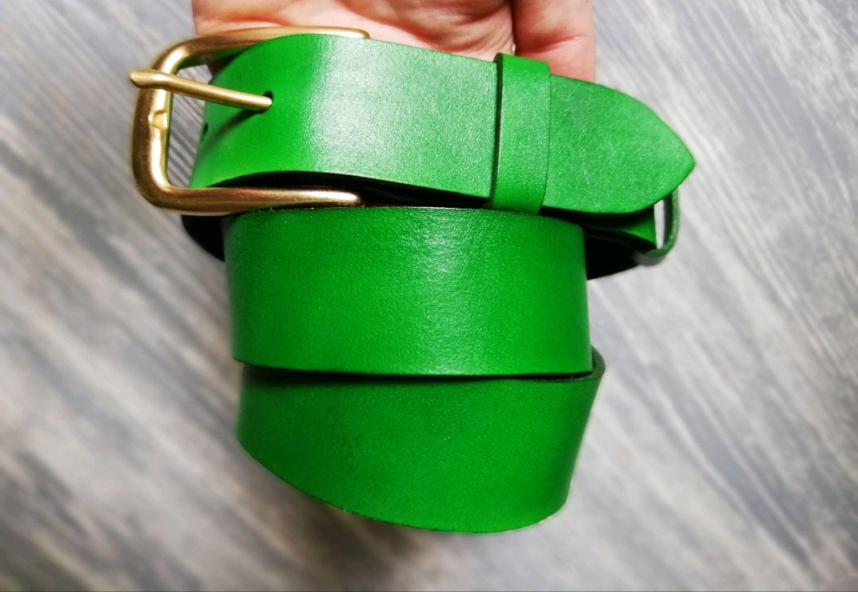 Кожаный ремень/ ремень из кожи /Ремень кожа/Belt /leather belt, Ремни, Набережные Челны, Фото №1