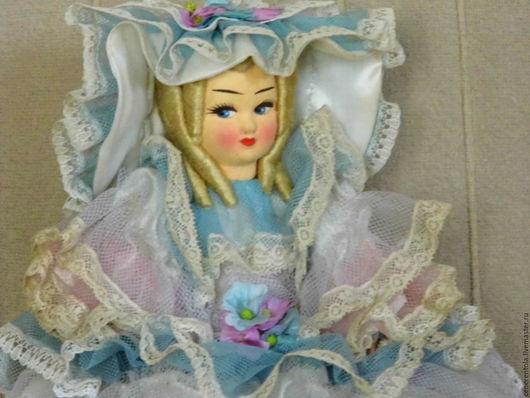 Винтажные куклы и игрушки. Ярмарка Мастеров - ручная работа. Купить винтажная итальянская кукла-шкатулка. Handmade. Комбинированный