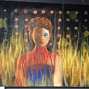 Картины и панно ручной работы. Ярмарка Мастеров - ручная работа Neon demon. Handmade.