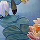 Картины цветов ручной работы. Заказать Картина маслом Кувшинки. Авторская картина маслом.. Счастье есть! И оно здесь.... Ярмарка Мастеров.