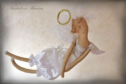 """Ароматизированные куклы ручной работы. Ярмарка Мастеров - ручная работа. Купить """"Ангел любви и нежности"""" - авторская кофейная куколка. Handmade."""