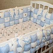 Для дома и интерьера ручной работы. Ярмарка Мастеров - ручная работа Бомбон-бортики в кроватку В НАЛИЧИИ. Handmade.