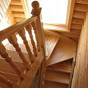 Для дома и интерьера ручной работы. Ярмарка Мастеров - ручная работа Лестницы из сосны. Handmade.